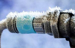 растопить лед в трубе